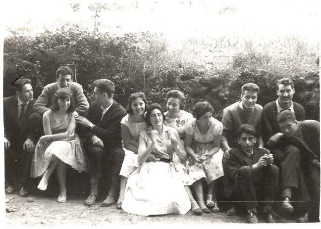 Ano 1959. Festa de San Pedro de Meixide (Palas de Rei). Aportación de Pilar Cordeiro