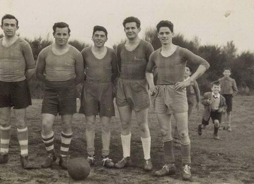 Ano 1956. Palas F.C. Aportación de Pilar Cordeiro