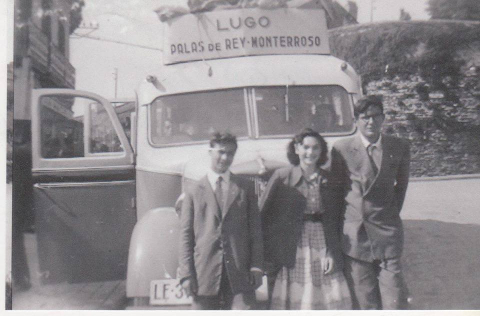 Autobús de línea en Lugo. Aportación de Pilar Cordeiro