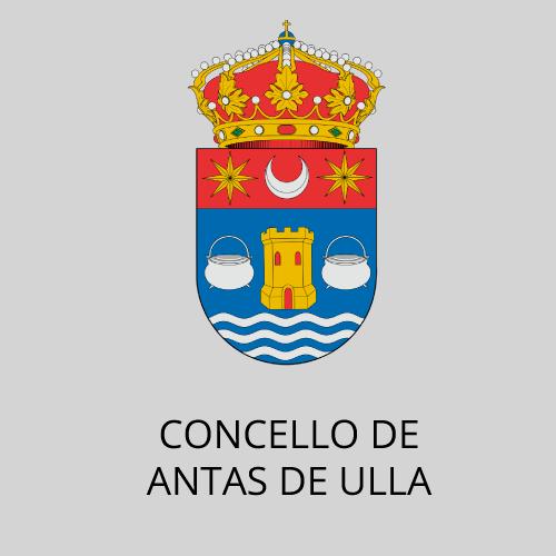 Logotipo Concello de Antas de Ulla