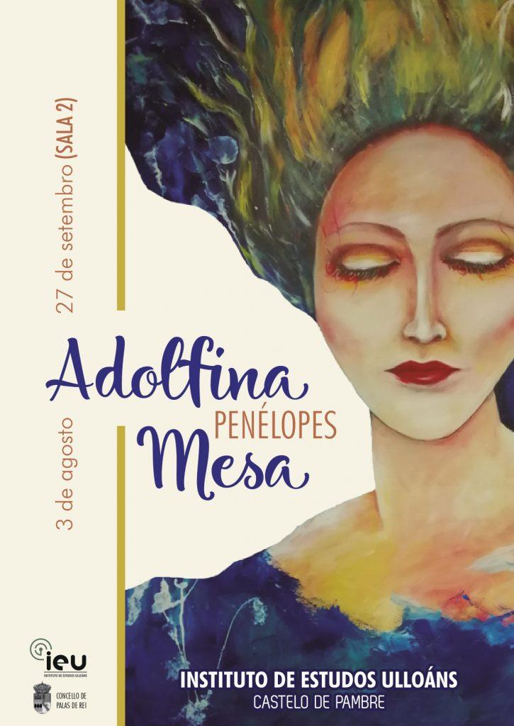 Exposición de Adolfina Mesa, Castelo de Pambre, Instituto de Estudos Ulloáns