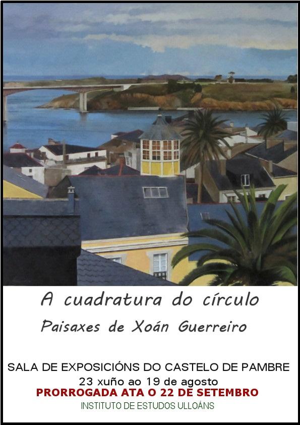 exposición Xoan Guerreiro, Instituto de Estudos Ulloáns web