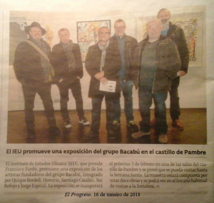 exposicion Bacabu- El Progreso