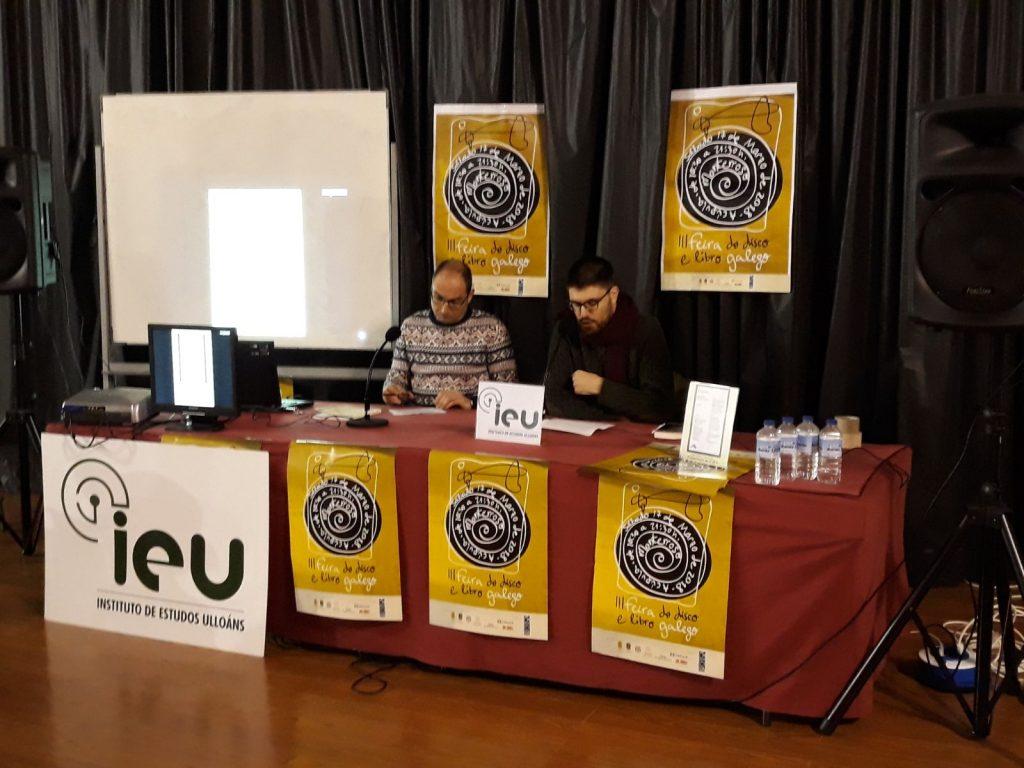 Presentacion Cairón 2, Feira do Libro de Monterroso, Instituto de Estudos Ulloáns, IEU