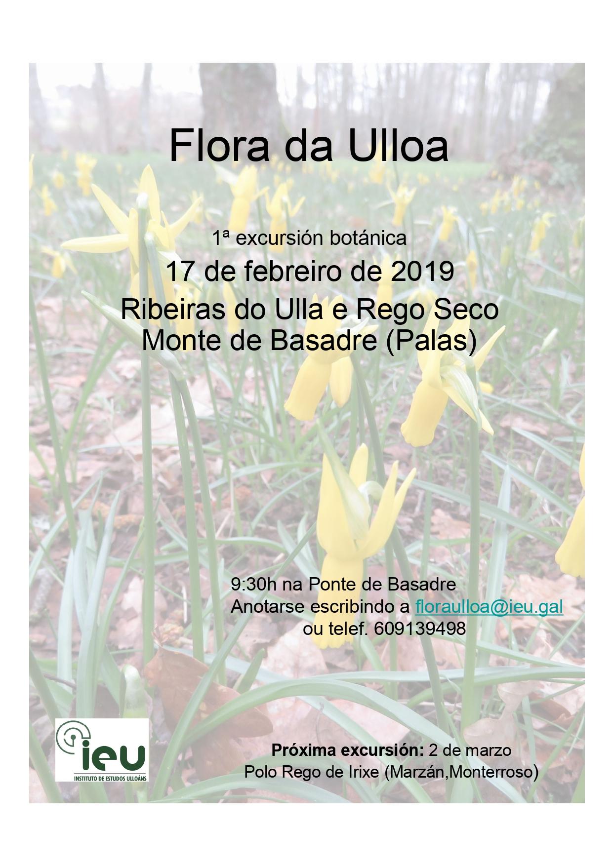 1ª exc Flora da Ulloa, Instituto de Estudos Ulloáns