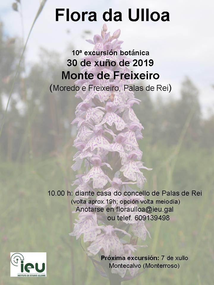 10ªexcursións Flora da Ulloa, Freixeiro, Instituto de Estudos Ulloáns