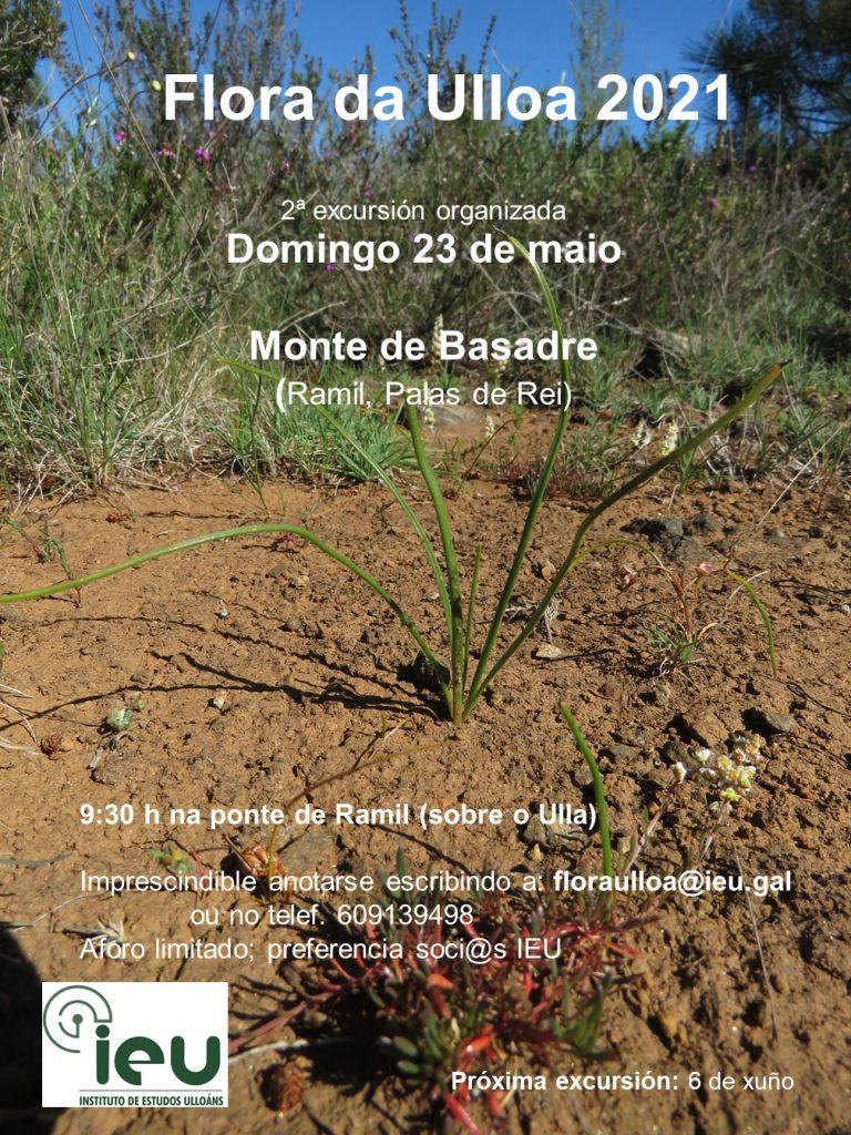 Excursión Flora da Ulloa 2-21, Monte Basadre, Instituto de Estudos Ulloáns