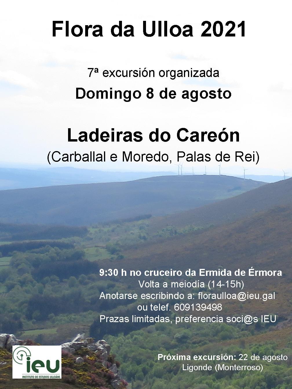 Excursión Flora da Ulloa 7ª-2021, Careón