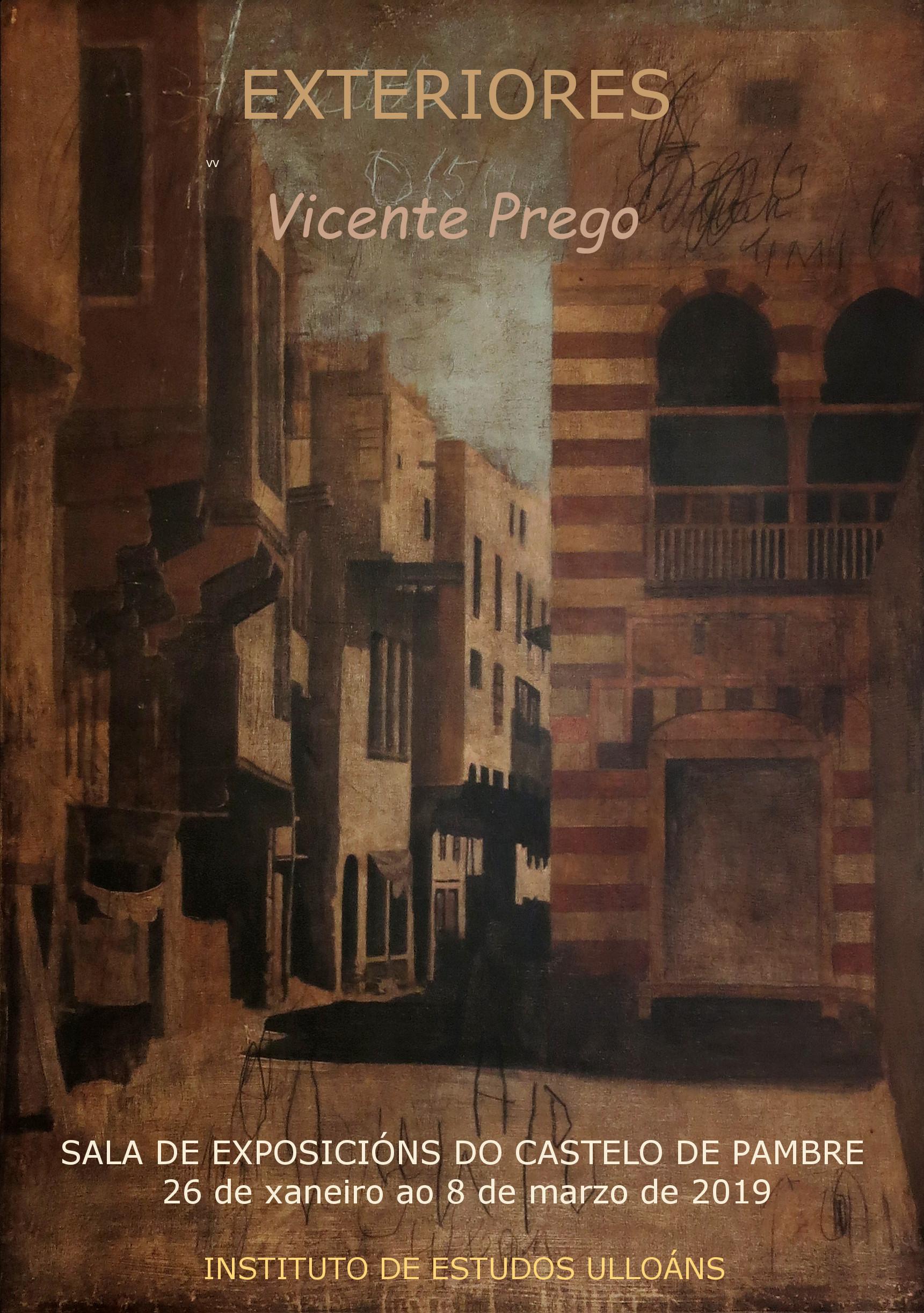Exposición Vicente Prego, Instituto de Estudos Ulloáns