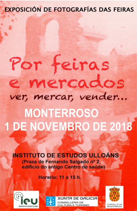 Feira de Santos Monterroso 2018. Instituto Estudos Ulloáns