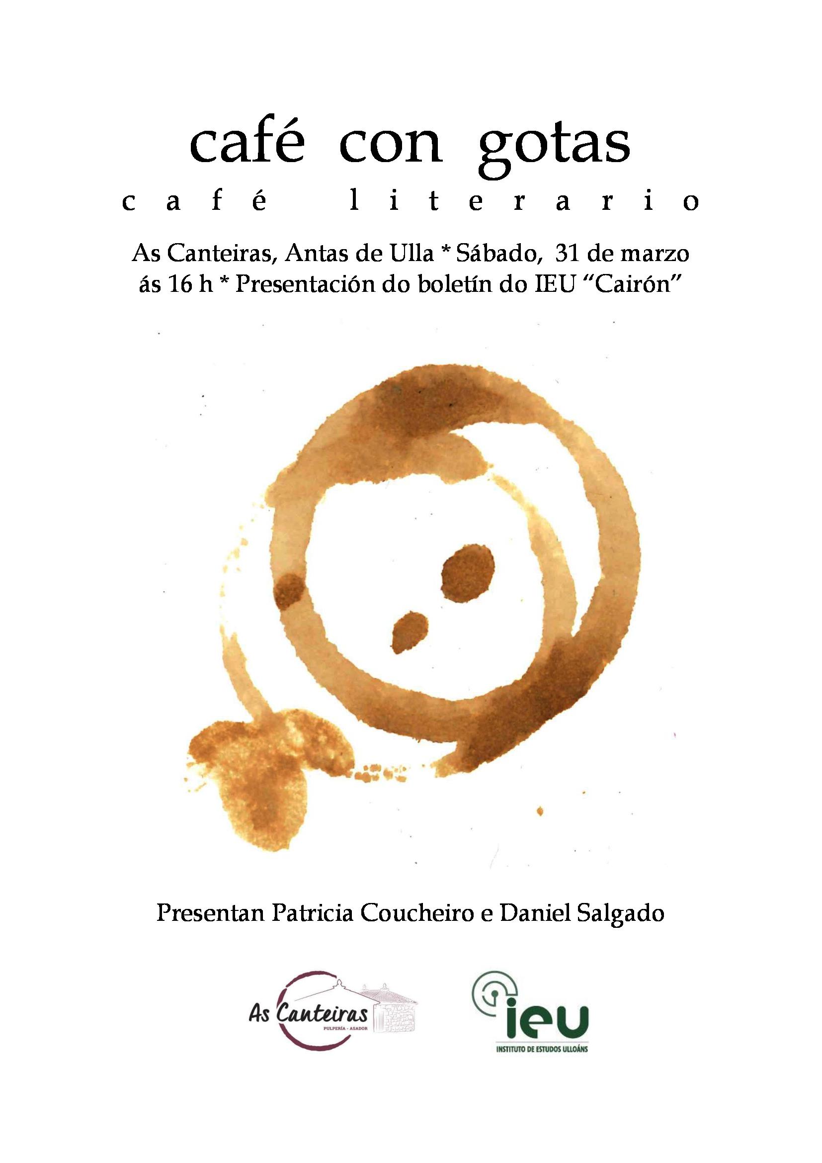 Presentación Cairón nº2. Boletín do Instituto de Estudos Ulloáns. Antas de Ulla.
