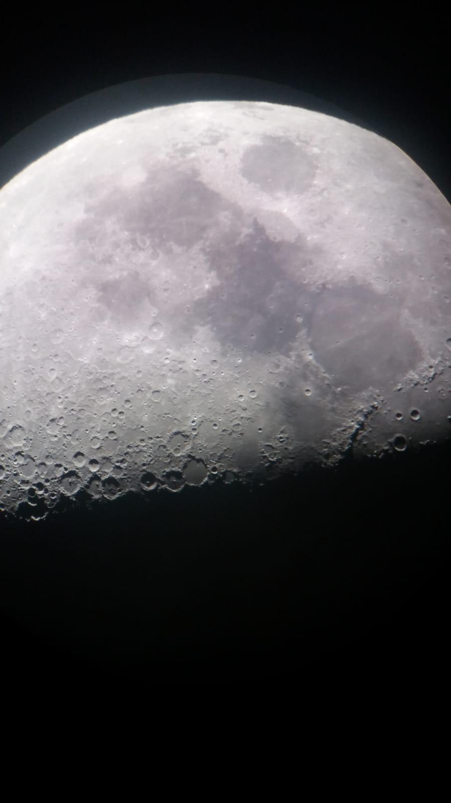 Observacion astronomica en Monterroso. Todocosmos. Instituto de Estudos Ulloáns