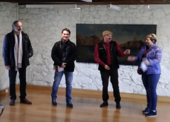 Exposición Vicente Prego, Instituto de Estudos Ulloáns 1