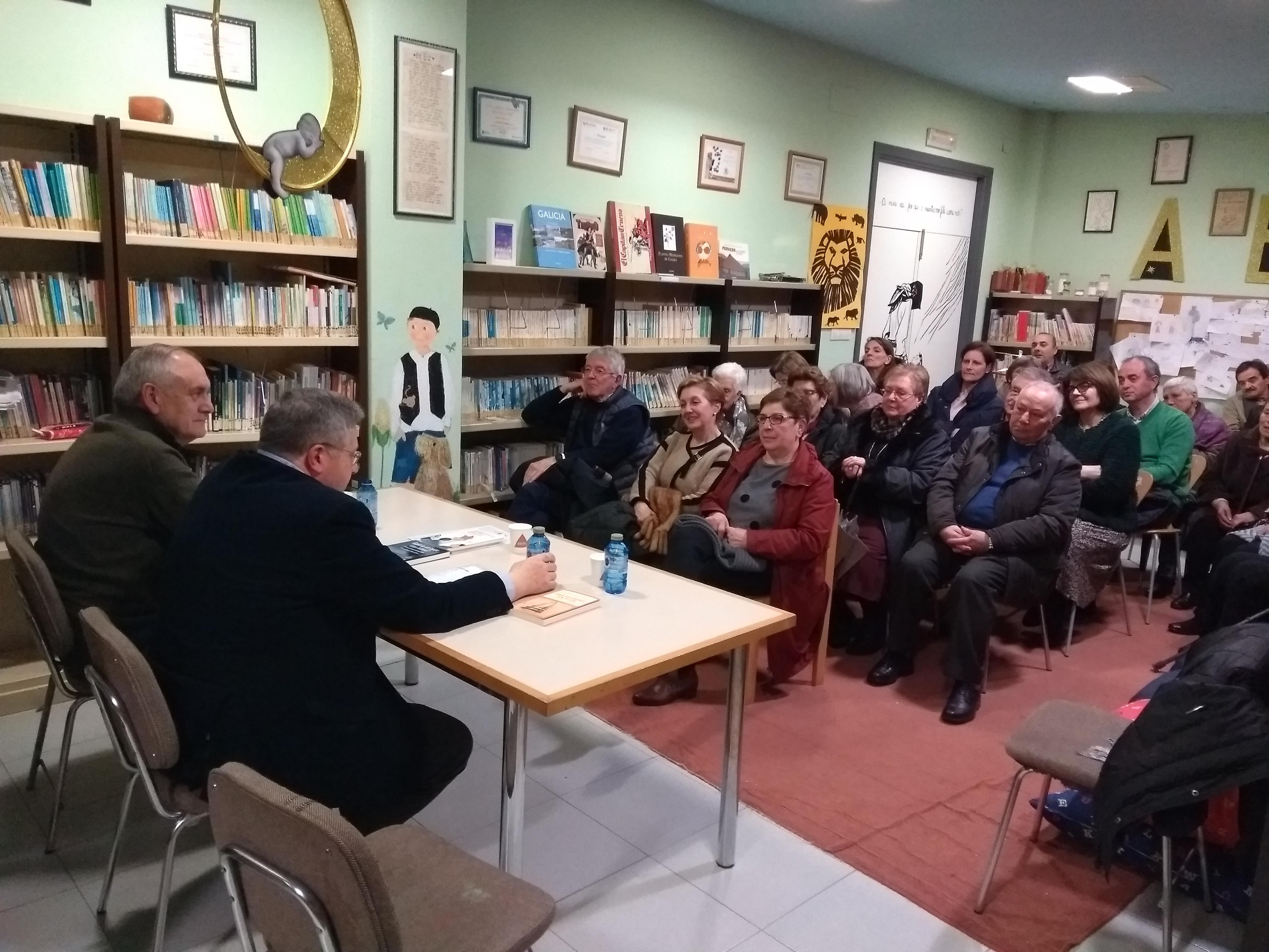 Presentación do libro Una sociedad sin hijos, Instituto Estudos Ulloáns