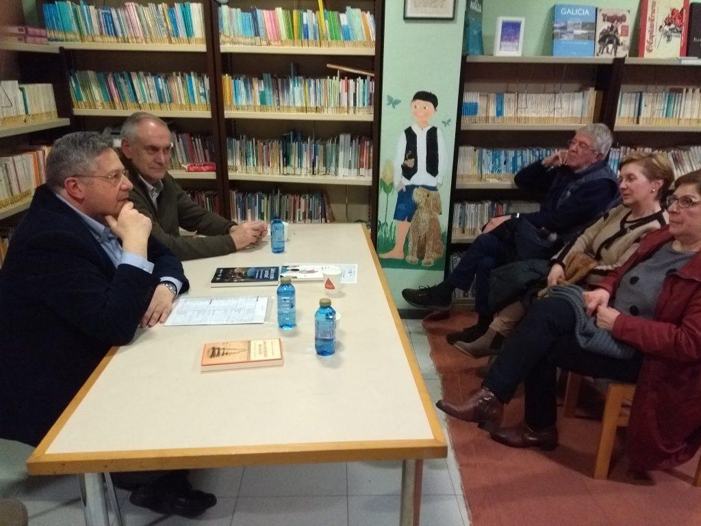 Presentacion Manuel Blanco Desar, Insrtituto Estudos Ulloáns