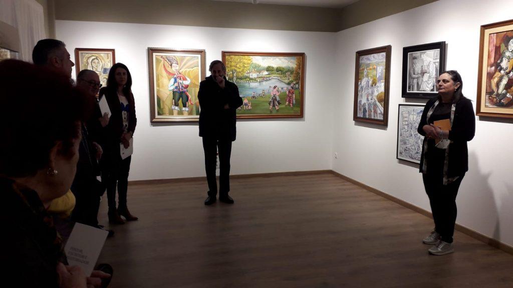 inauguración exposición Yebra de Ares, Instituto Estudos Ulloáns