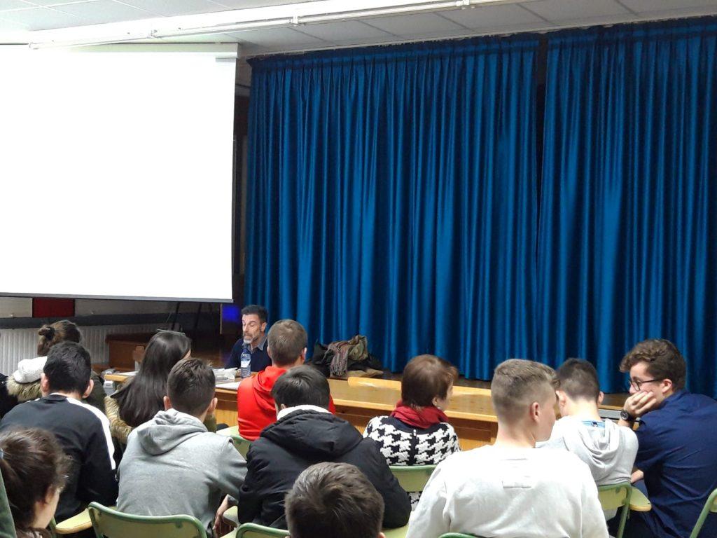 Conferencia Xulio Pardo de Neyra no IES de Monterroso, Instituto de Estudos Ulloáns (1)