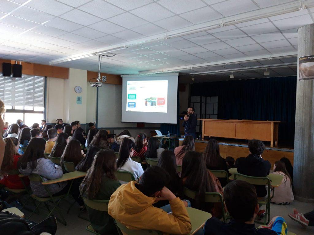 Conferencia de Vicente Feijoo, IES Monterroso, Instituto Estudos Ulloáns 1
