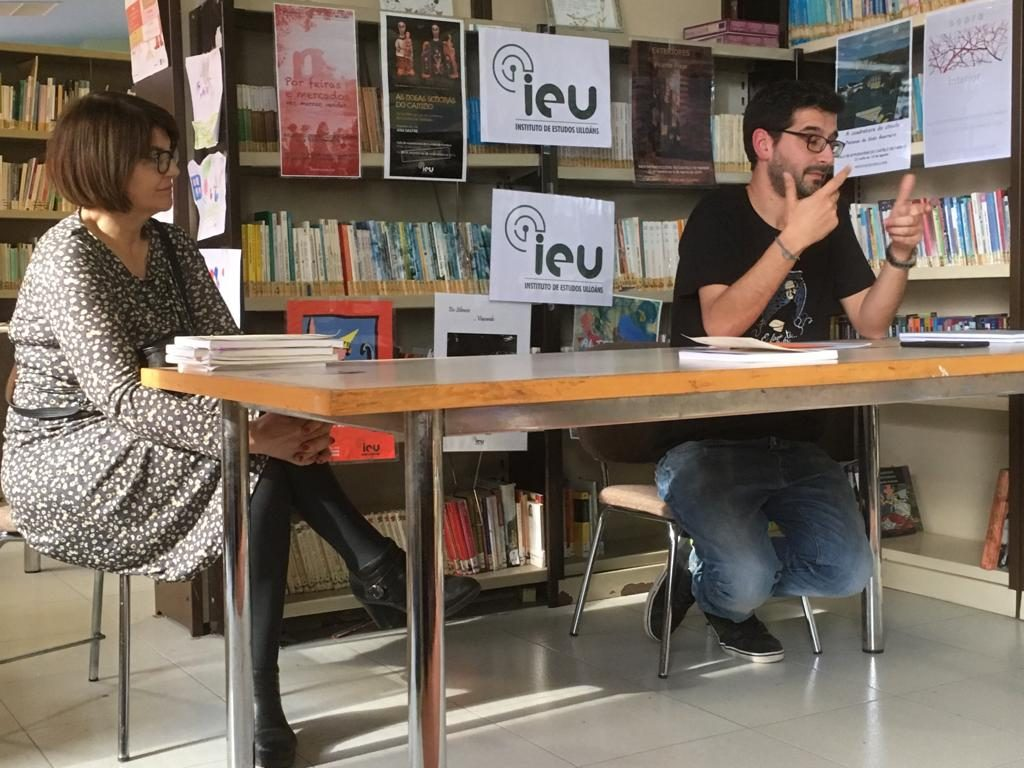 Presentación Cairon en Antas de Ulla, Instituto de Estudos Ulloáns