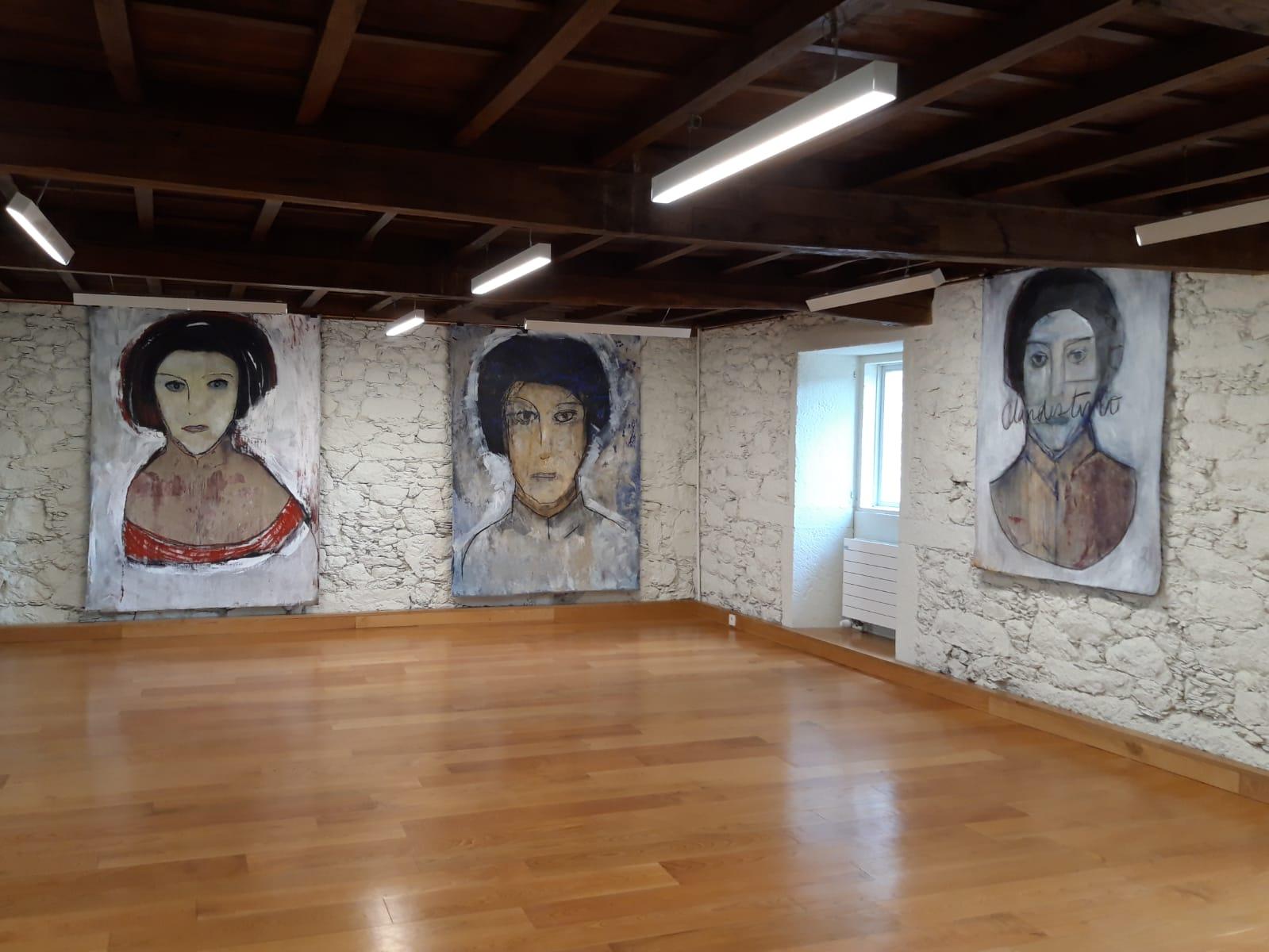 Exposicion Belkiss Oliveira, Instituto de Estudos Ulloáns, IEU