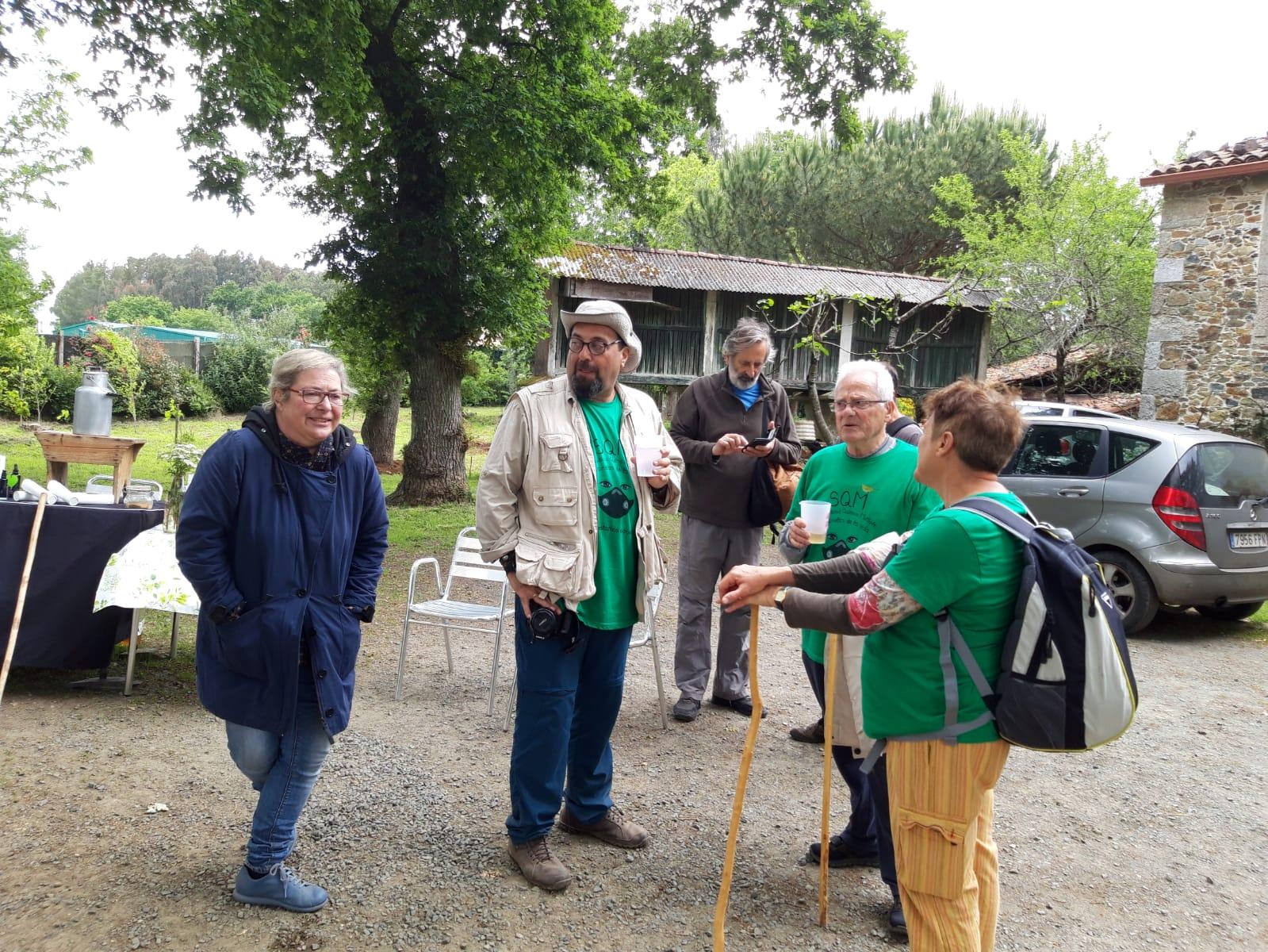 O IEU na peregrinación dos afectados pola SQM