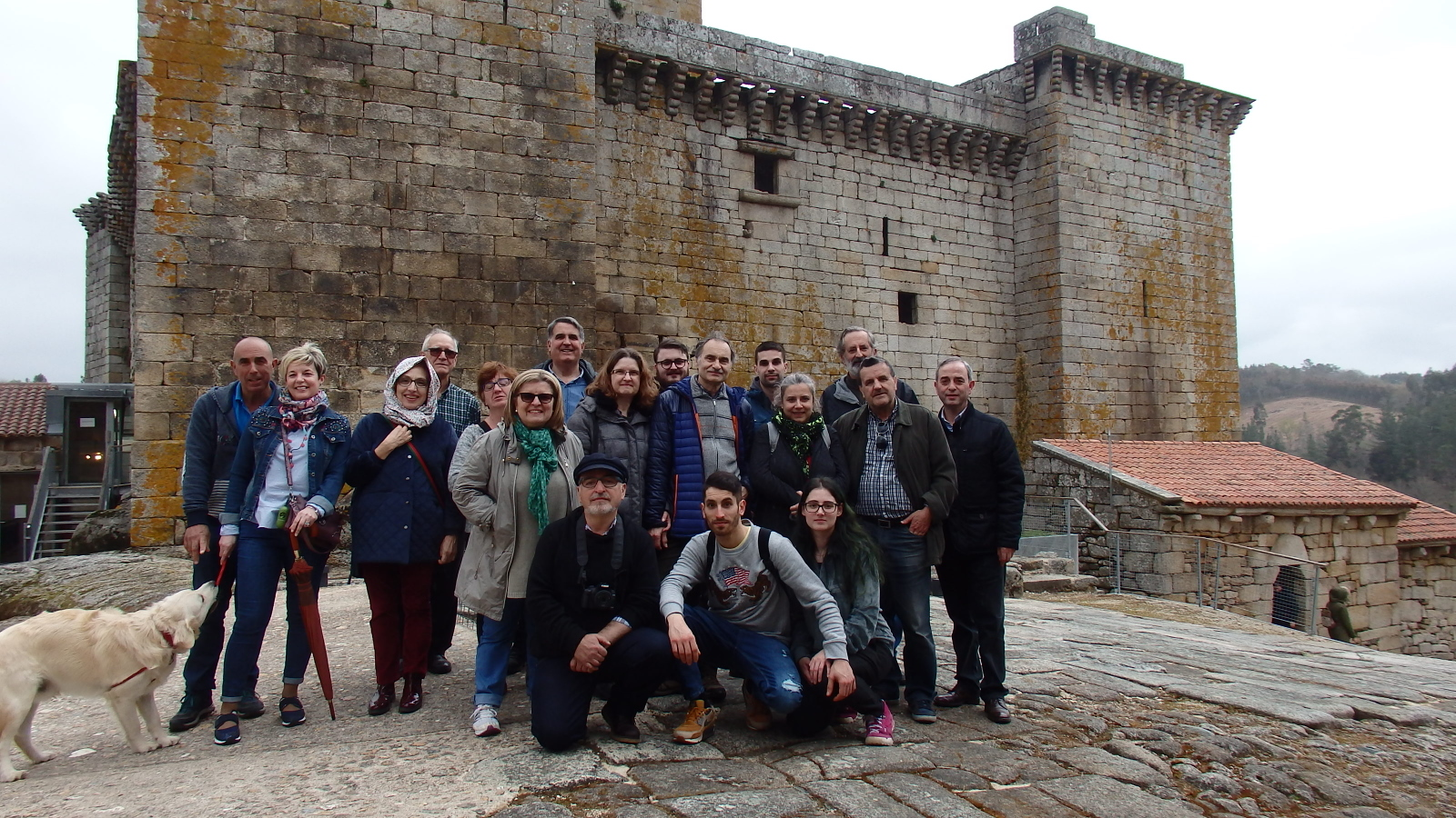 Visita guiada ao castelo de Pambre de A Colectiva, Instituto de Estudos Ulloáns