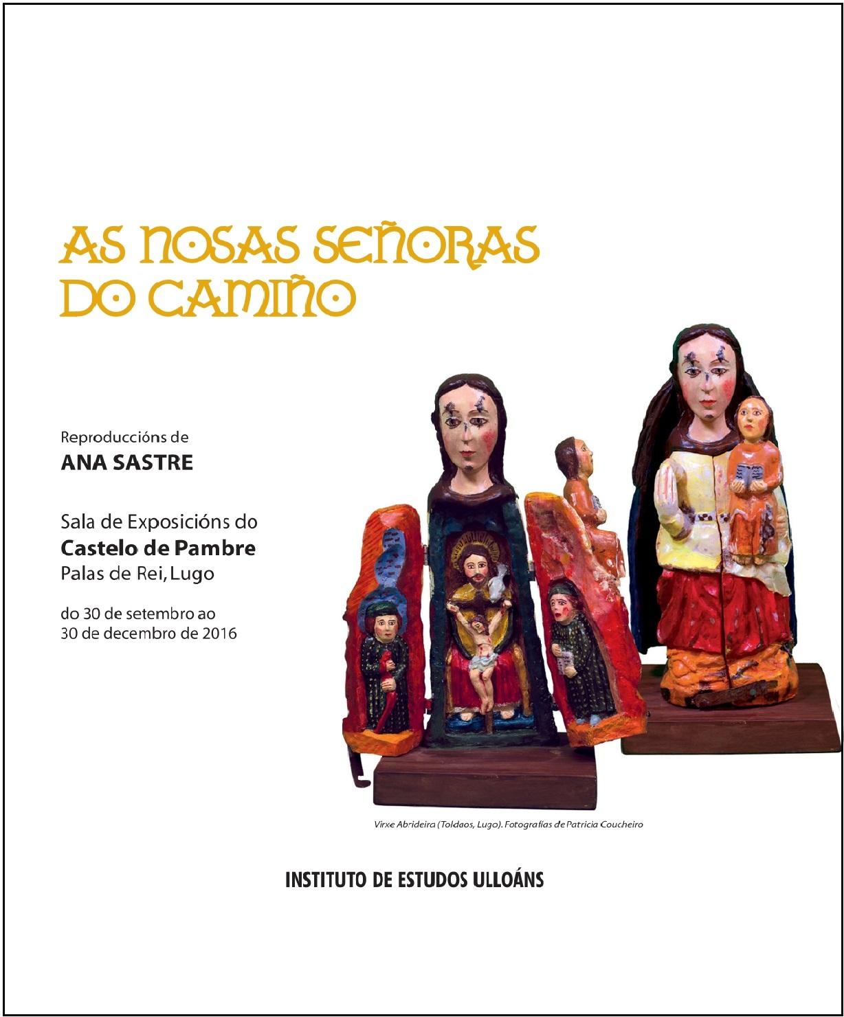Portada Catálogo As Nosas Señoras do Camiño, Instituto de Estudos Ulloáns