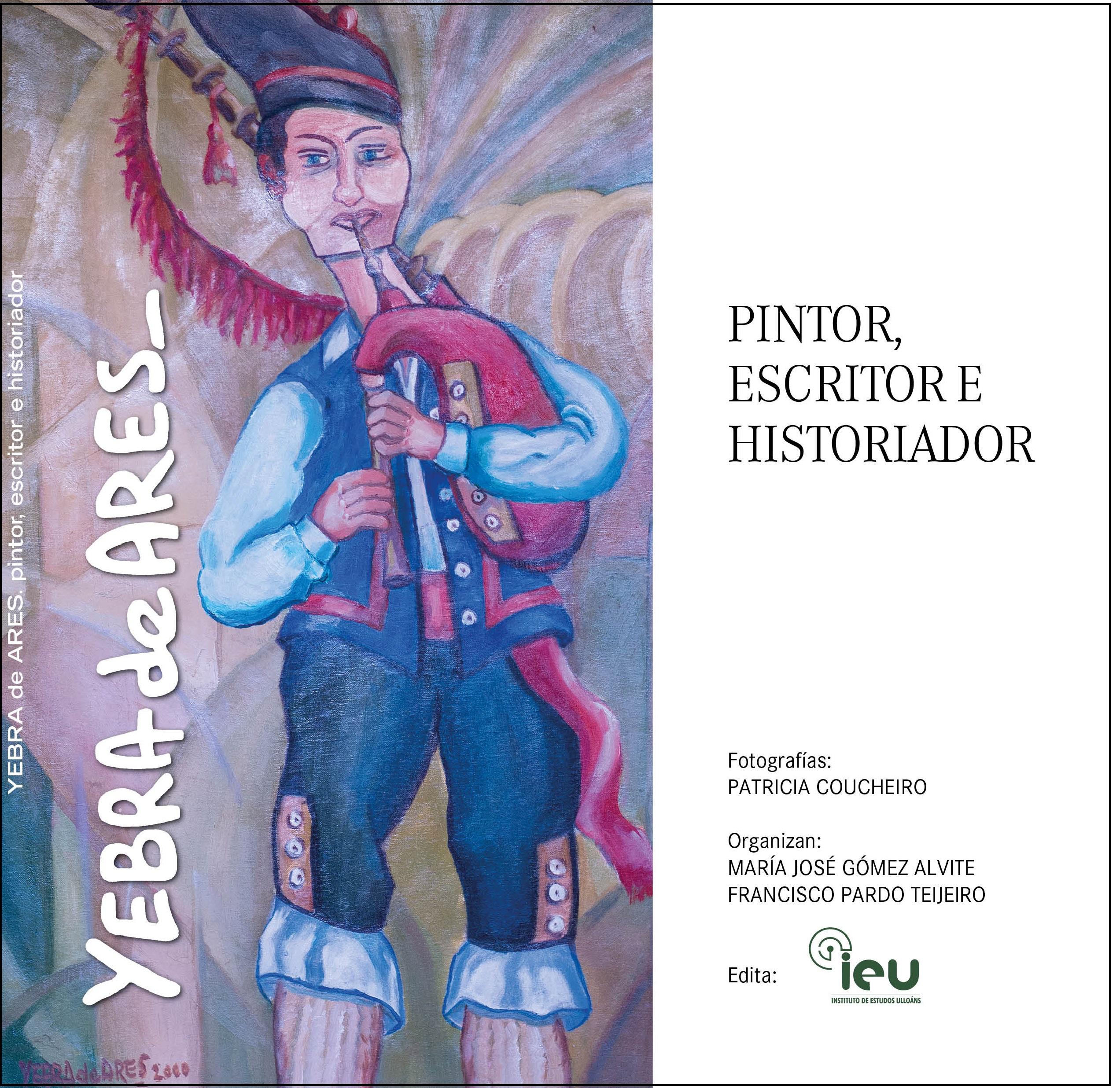 Portada catalogo expo Yebra de Ares, Instituto de Estudos lloáns 1