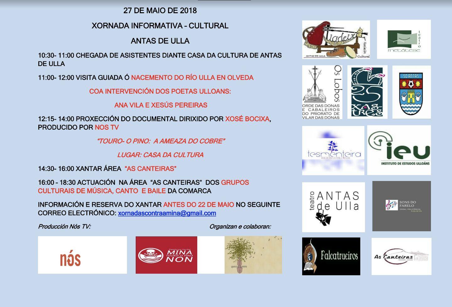 xornada informativa cultural Mina Touro 27-5-2018, Instituto de Estudos Ulloáns, IEU