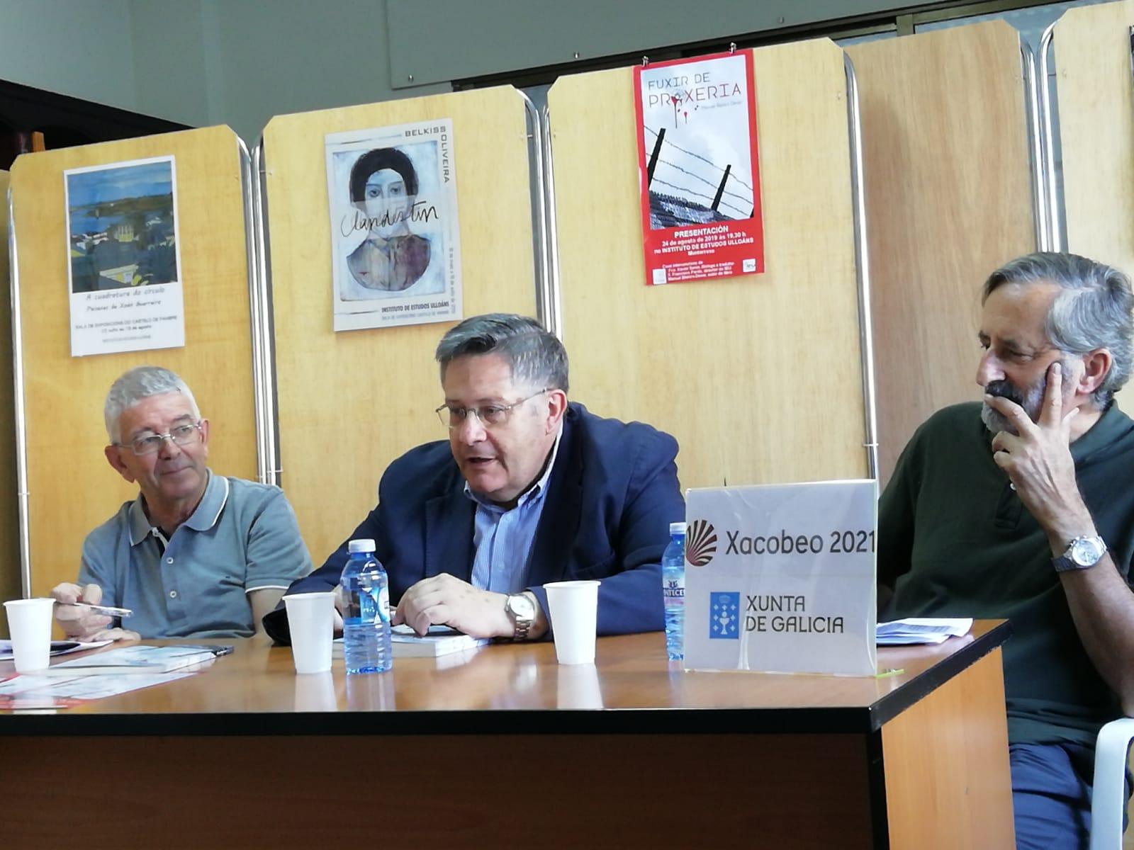 Fuxir de Proxeria, Blanco Desar, Xavier Senín, Francisco Pardo, Instituto de Estudos Ulloáns