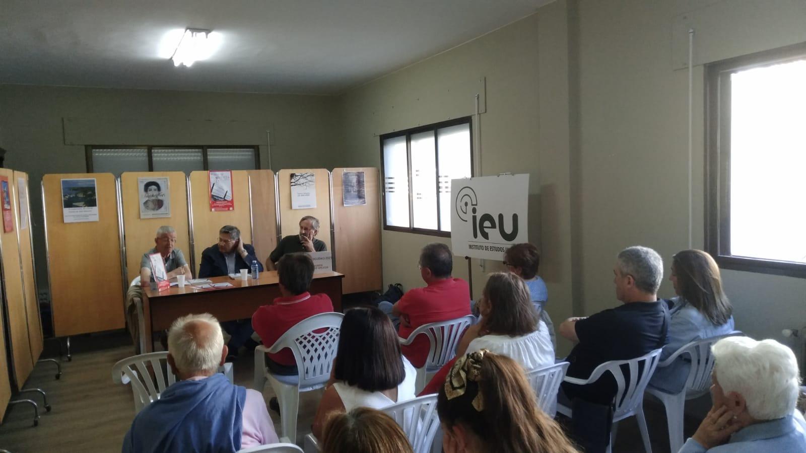 Presentación Fuxir de Proxeria, Manuel Blanco Desar, Xavier Senín, Francisco Pardo, Instituto de Estudos Ulloáns