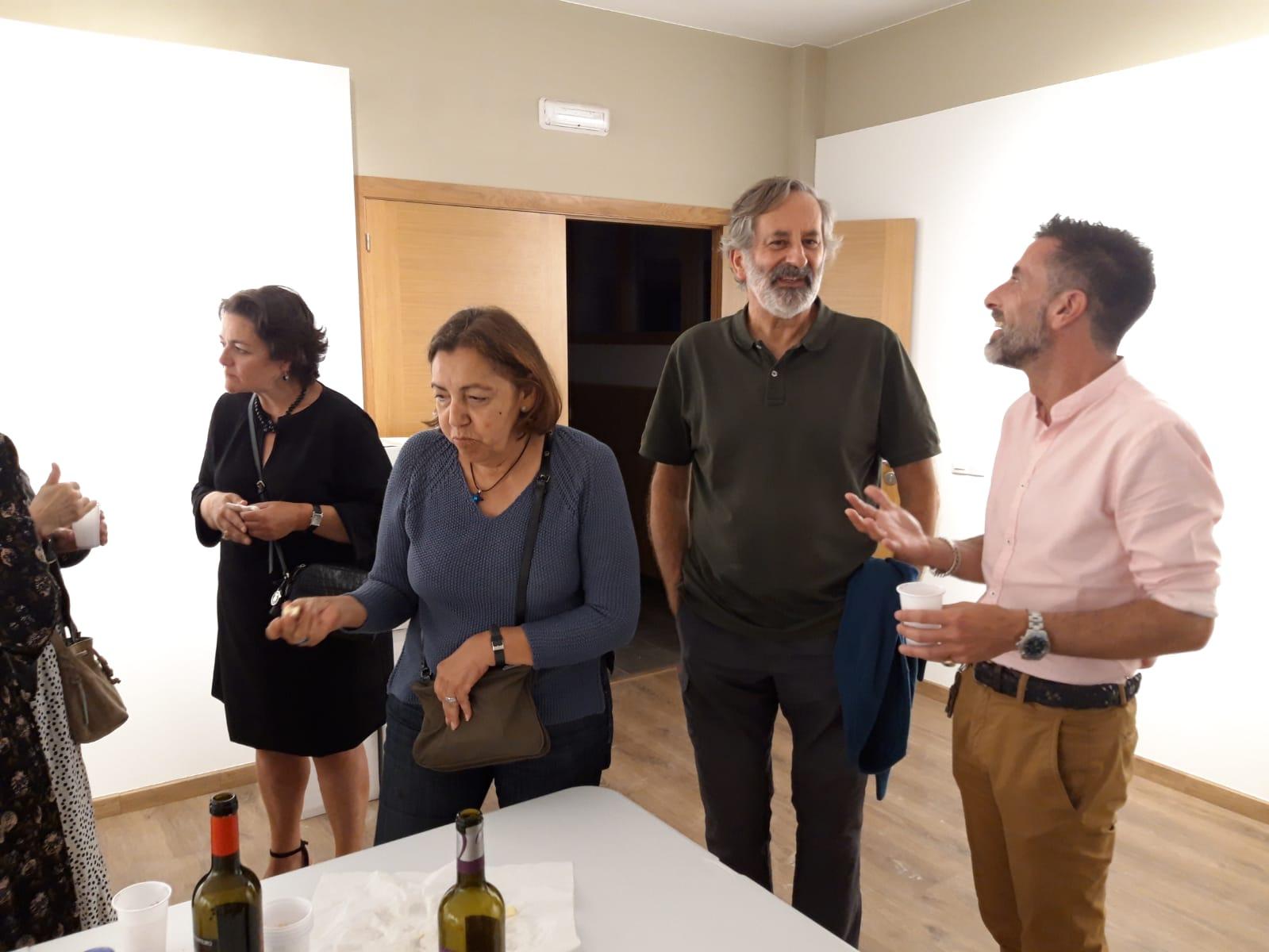 Presentación biografía Carballo Calero, Xulio Pardo de Neyra, Instituto de Estudos Ulloáns