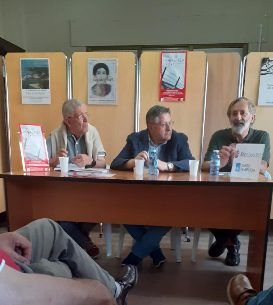 Presentacion Fuxir de Proxeria, Manuel Blanco Desar, Instituto de Estudos Ulloáns, Monterroso