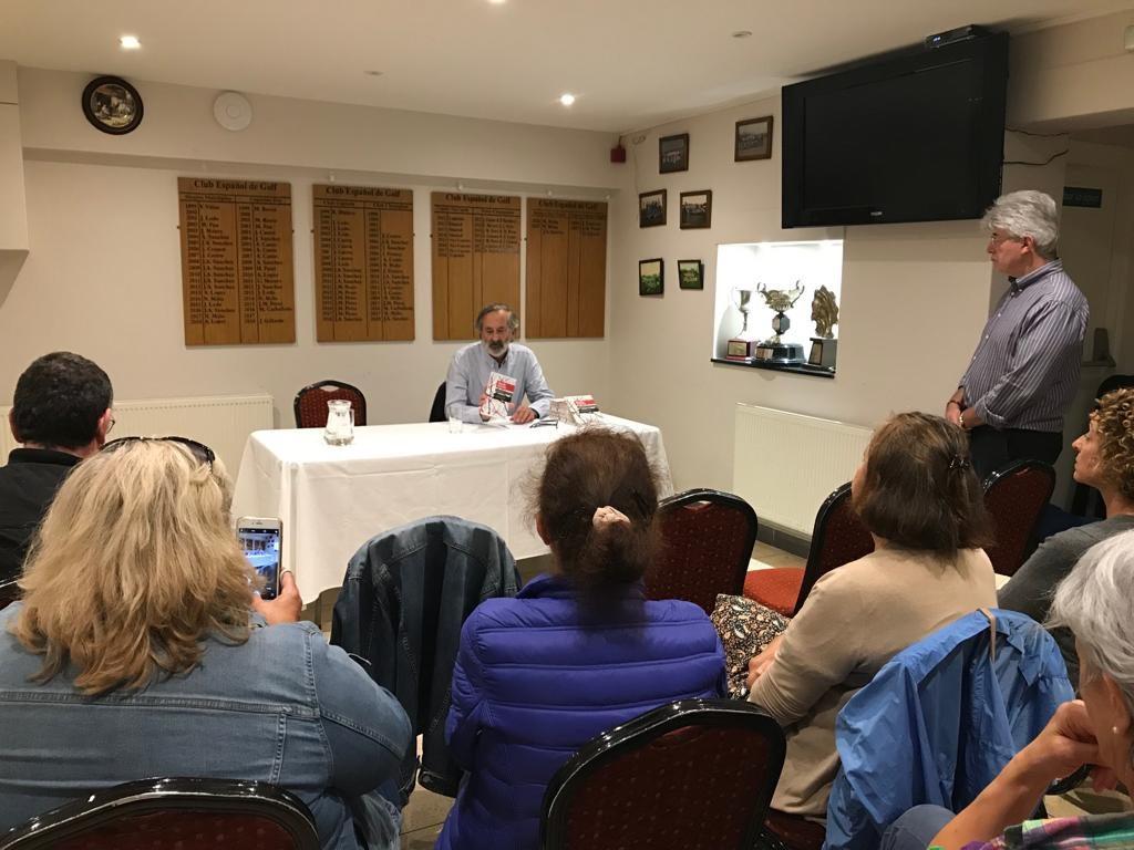 Presentación de Relatos da Ulloa no Centro Galego de Londres, Francisco Pardo, Instituto de Estrudos Ulloáns