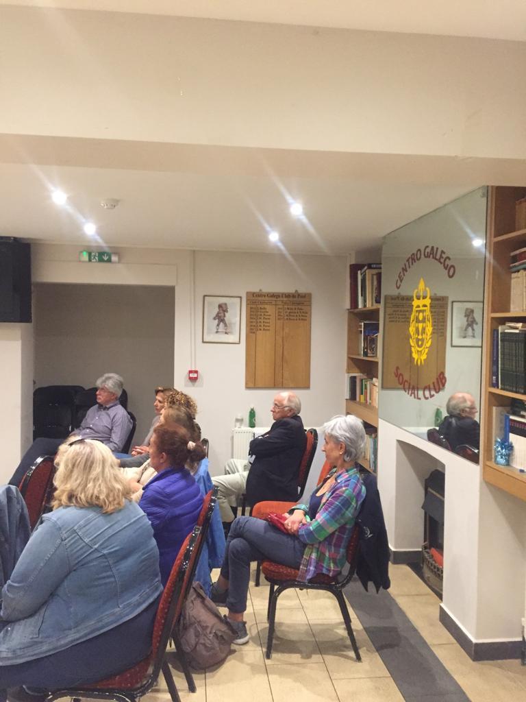 Presentación de Relatos da Ulloa no Centro Galego de Londres, Instituto de Estudos Ulloáns