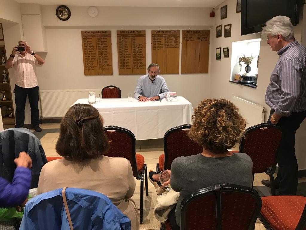 Presentacion de Relatos da Ulloa, Centro Galego de Londres, Instituto de Estudos Ulloáns