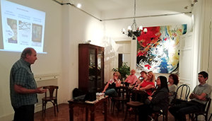 Presentación Relatos da Ulloa en Buenos Aires, Instituto de Estudos Ulloáns,Federación de Sociedades Gallegas de la República Argentina, Foto Crónicas de la emigración