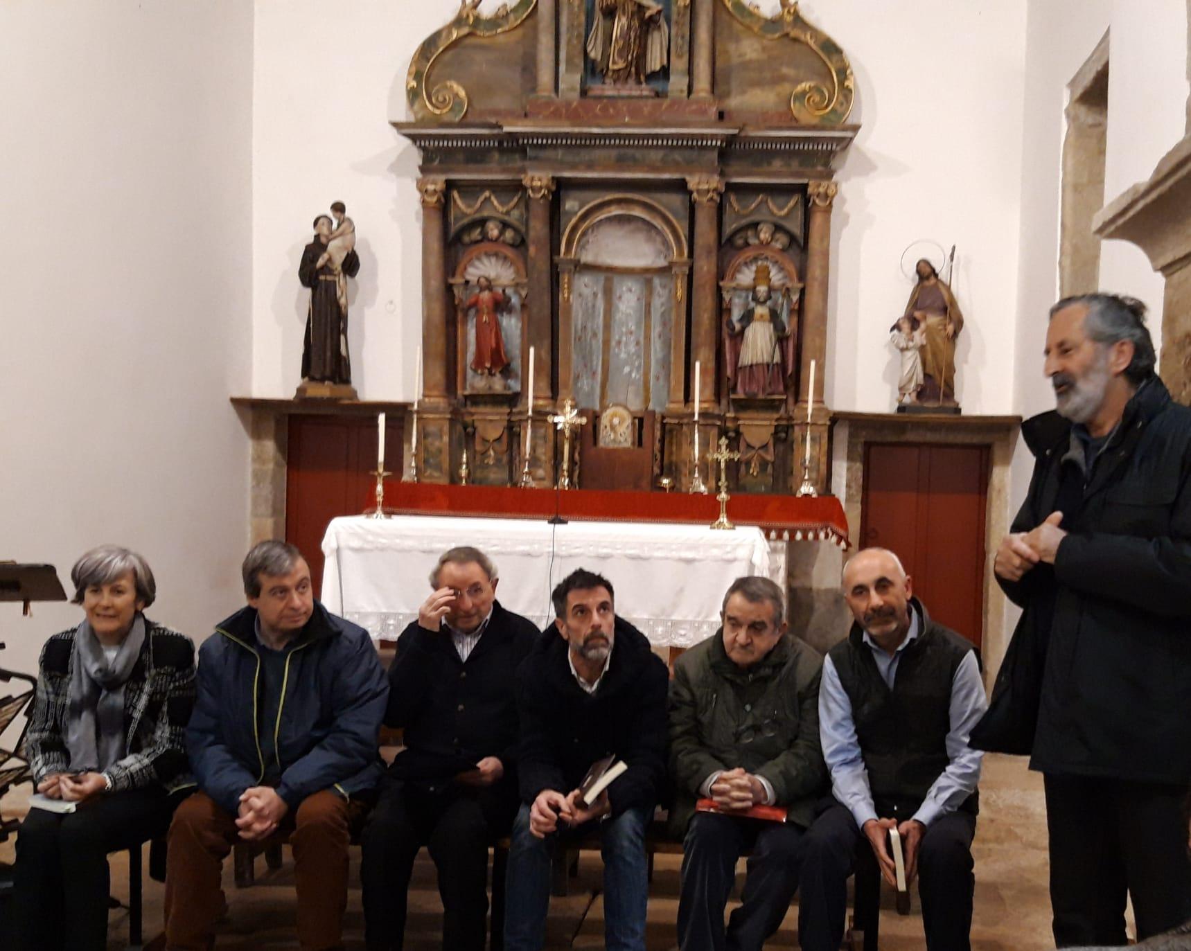 Recital poético sobre o Pico Saco, Instituto de Estudos Ulloáns
