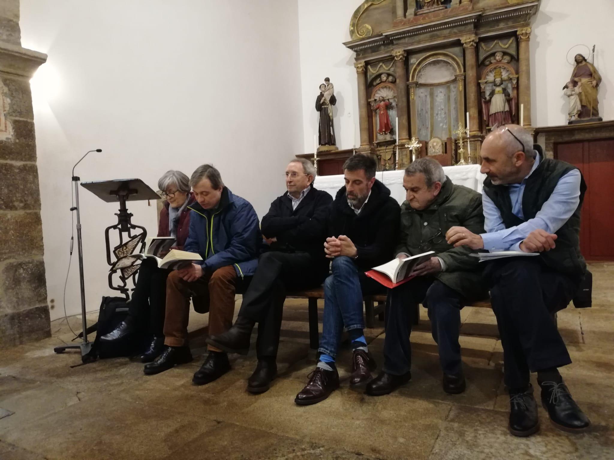 Recital poético sobre o Pico Sacro, Instituto de Estudos Ulloáns, IEU, Antas de Ulla