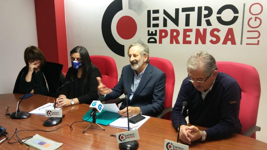 Rolda de Prensa, Instituto de Estudos Ulloáns, Centro Xeográfico de Galicia