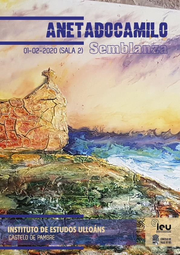 Semblanza, exposición A neta do Camilo, Instituto de Estudos Ulloans, castelo de Pambre