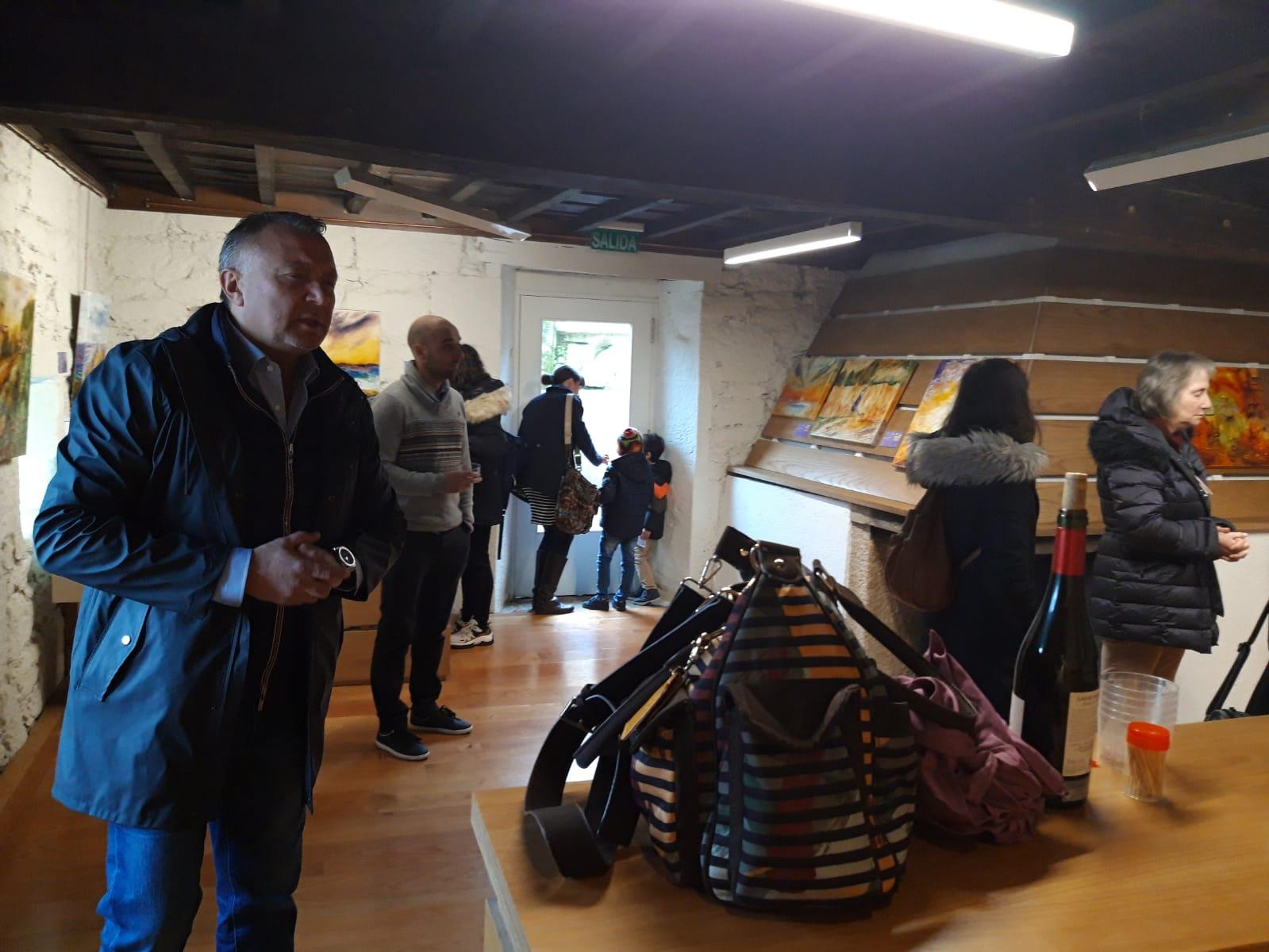 Inauguracion exposicion Semblanza, castelo de Pambre