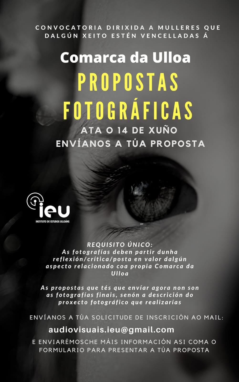 Propostas fotográficas na Ulloa, Patricia Coucheiro, Instituto de Estudos Ulloáns