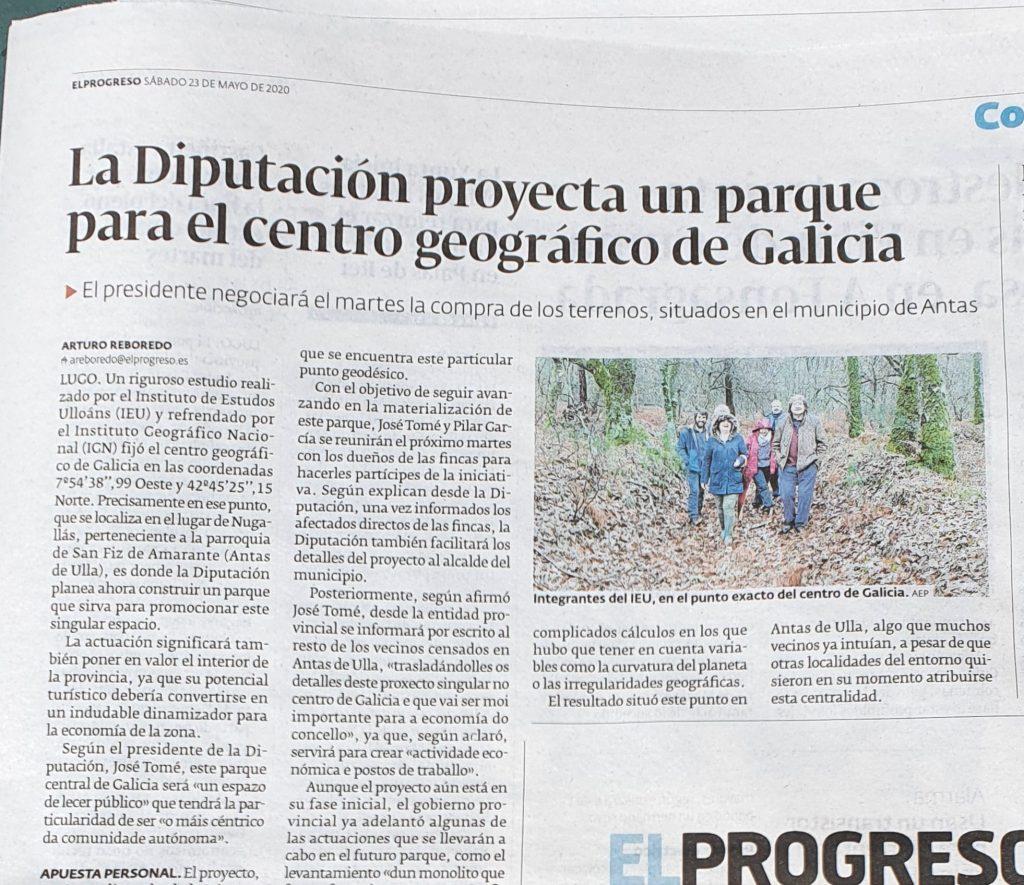 Centro Xeografico de Galicia, Deputación de Lugo, Instituto de Estudos Ulloáns