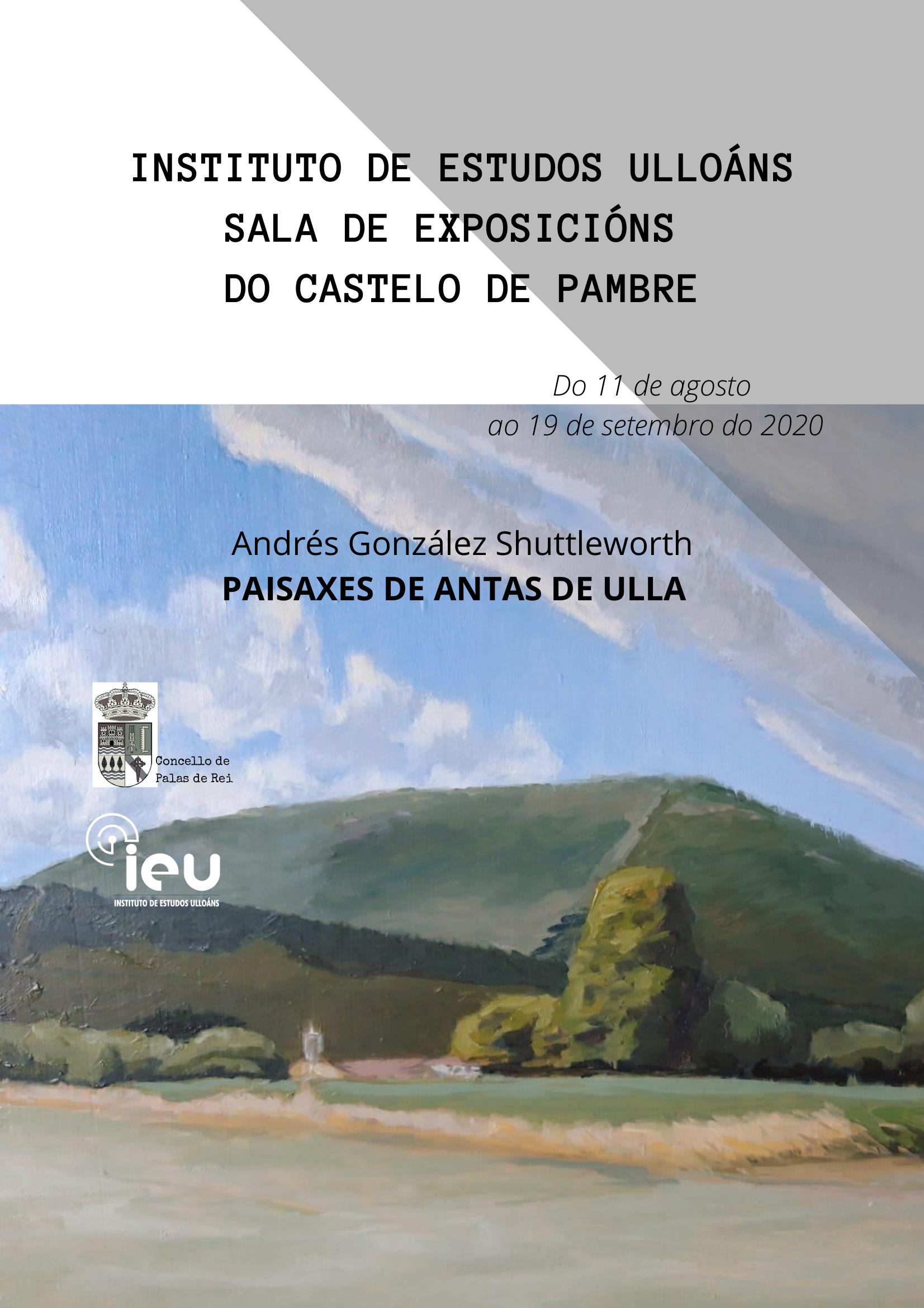 Cartaz Andres Paisaxes de Antas