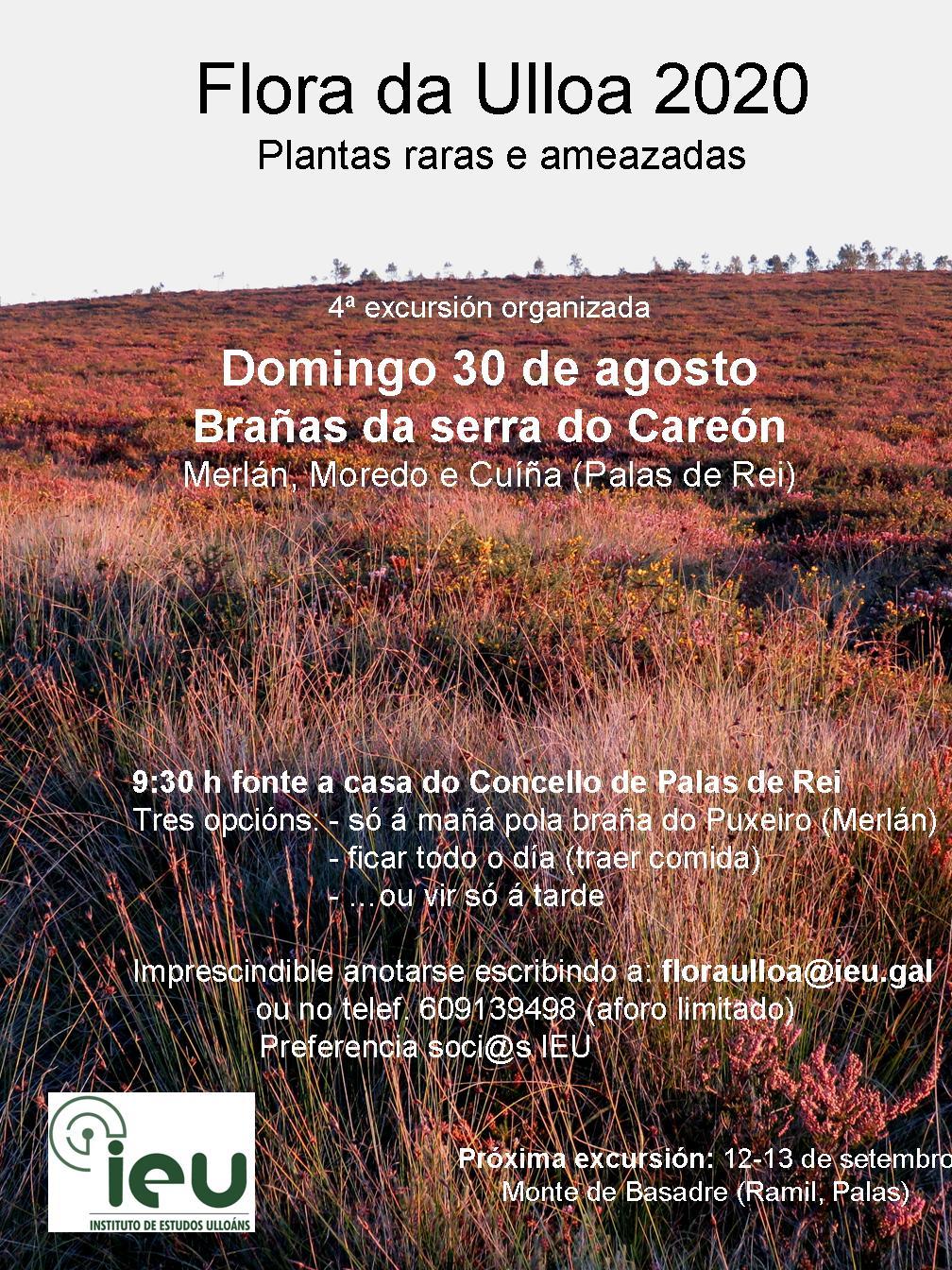 Excursión Flora da Ulloa 04-20 Brañas Careón, Instituto de Estudos Ulloáns
