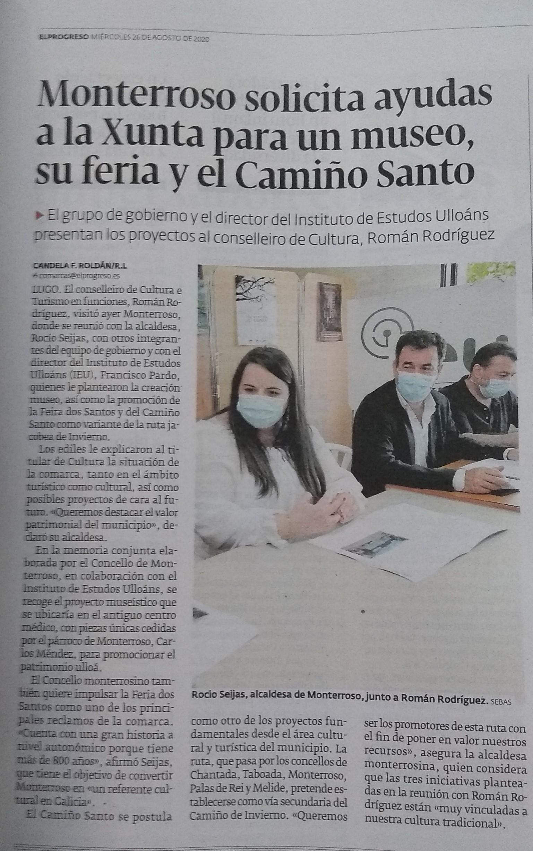 Presentacion do proxecto do Museo de Monterroso na sede do IEU