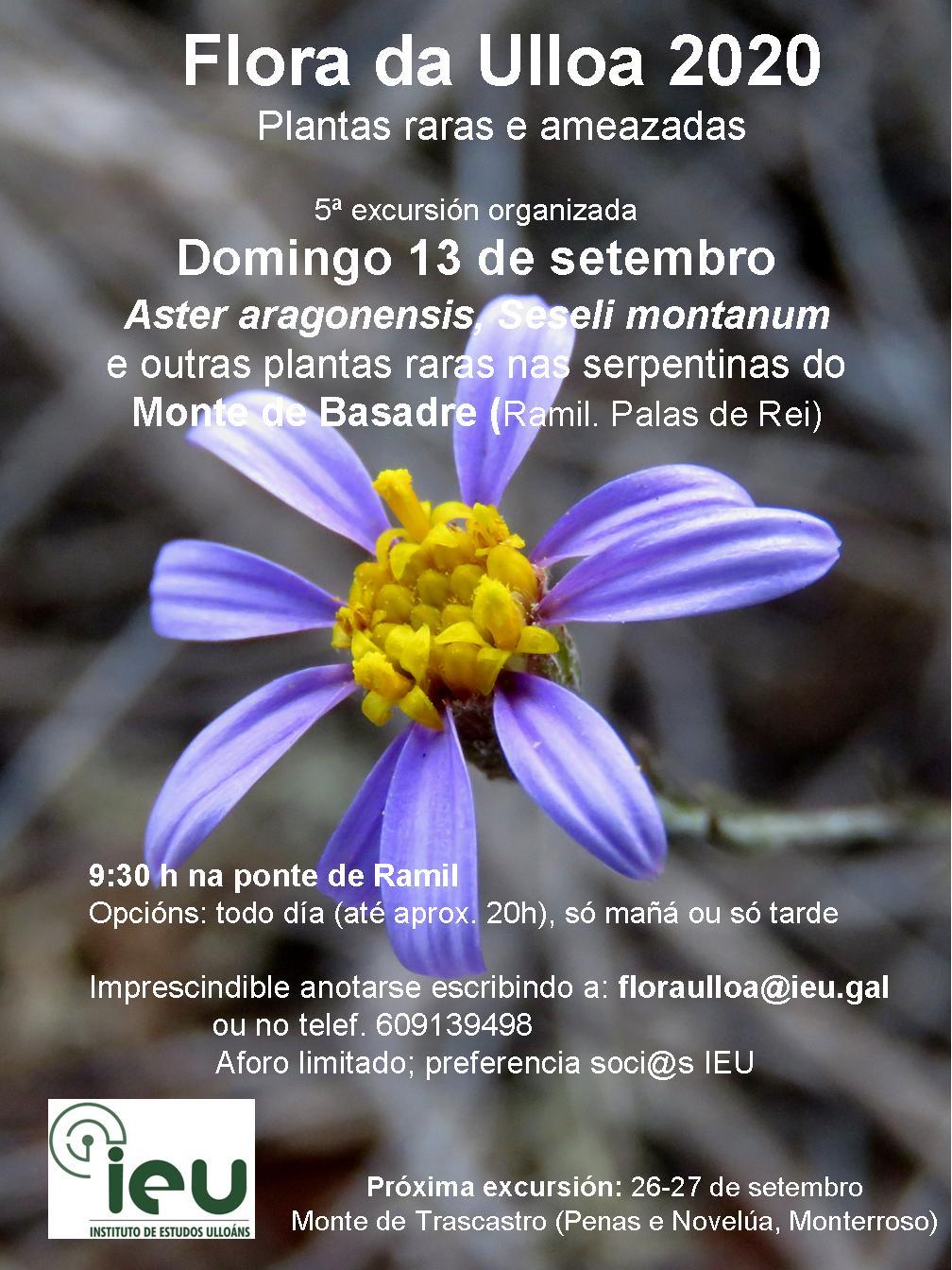 Excursión Flora da Ulloa 05-20 Monte de Basadre, Instituto de Estudos Ulloáns, IEU