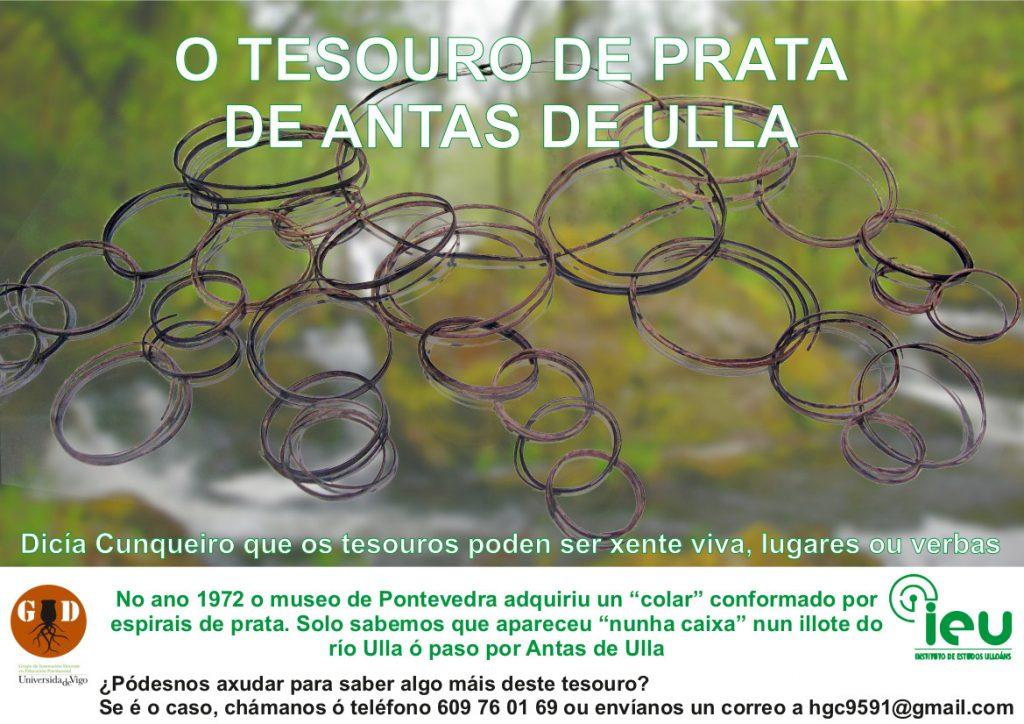 Investigación O Tesouro de Antas de Ulla, Instituto de Estudos Ulloáns
