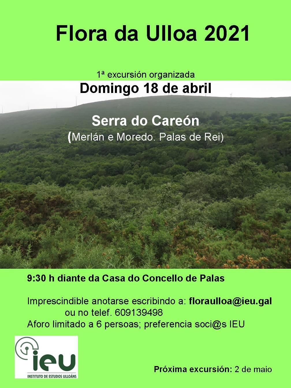Excursión Flora da Ulloa 1-21, Careón, Instituto de Estudos Ulloáns